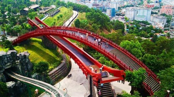 Ngay gần Thái Bình có Cầu Koi phong cách Nhật siêu đẹp, đảm bảo ngắm là phải đi