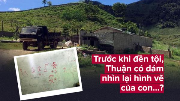 Trước khi đền tội, ông trùm ma túy Nguyễn Văn Thuận có dám nhìn lại hình vẽ trên tường của con?