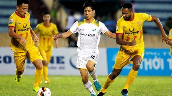 Thua SLNA nhưng cú lội ngược bàn thắng của Nam Định đã quá xuất sắc