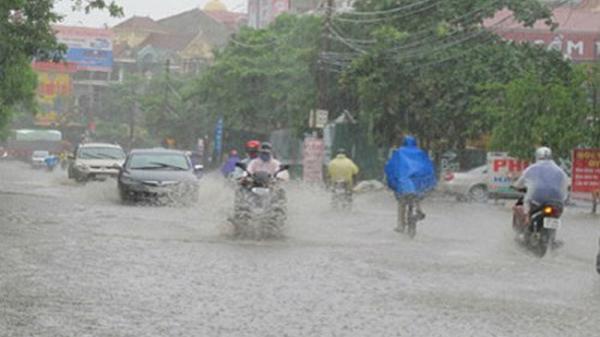 Nam Định và các tỉnh miền Bắc mưa đến khi nào?