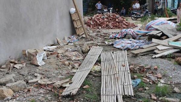 Sập giàn giáo, 1 trong 2 thợ xây quê Thái Bình rơi từ tầng cao tử vong