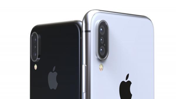 Cận cảnh iPhone X Plus sắp ra mắt có 3 camera sau 'đẹp không thể kìm lòng'