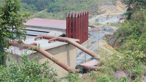"""Bắc Kạn : Những """"góc khuất"""" của nhà máy chế biến khoáng sản Bản Tặc"""