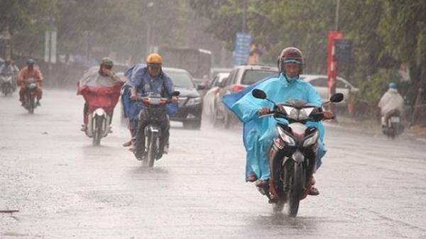 Cảnh báo: Từ đêm mai Thái Bình và các tỉnh Bắc bộ sẽ có mưa to đến rất to kéo dài 4 ngày