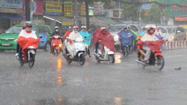 Từ đêm nay miền Bắc mưa to có nơi mưa RẤT TO