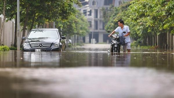 Mưa lớn diễn ra trên địa bàn Nam Định sẽ kéo dài trong bao lâu?