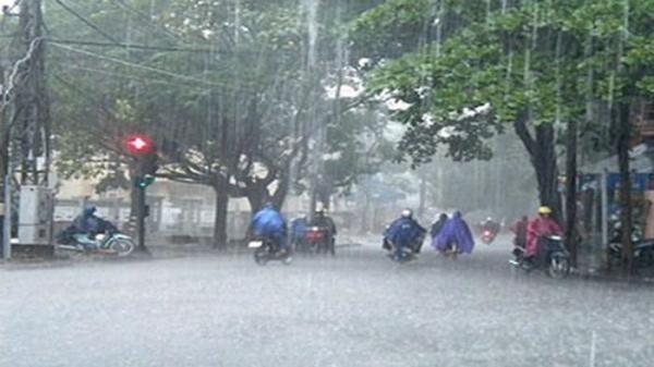 Dự báo thời tiết: Áp thấp gây mưa lớn, Bắc Kạn mưa kéo dài nhiều ngày
