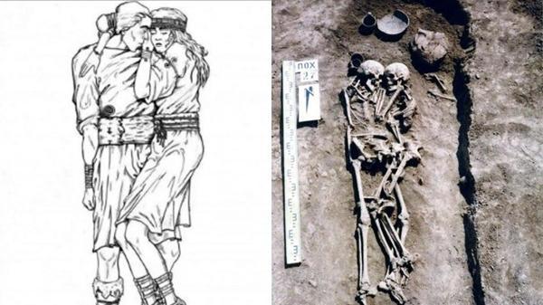 Hài cốt cặp đôi ôm nhau suốt 3000 năm trong mộ: Người vợ tình nguyện chôn sống theo chồng