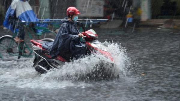 Nam Định và các tỉnh thành tiếp tục có mưa lớn, nguy cơ ngập lụt cao