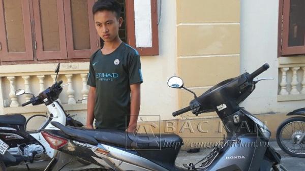 Bắc Kạn: Công an Ba Bể bắt đối tượng 15 tuổi trộm cắp xe máy trong mùa World Cup