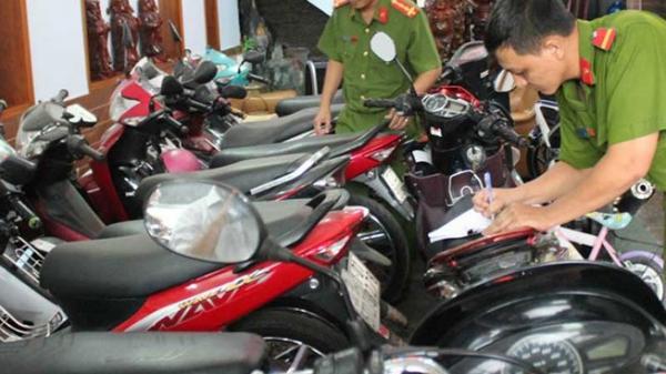 Công an Nam Định: Thông báo tìm chủ sở hữu hàng chục xe máy