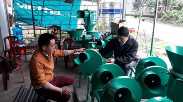 Khởi nghiệp từ chế tạo máy nông nghiệp