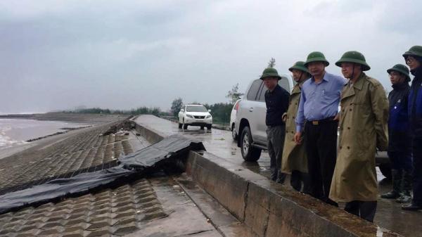 Bão Sơn Tinh giật cấp 10 đổ bộ đất liền: UBND tỉnh Nam Định đã ra công điện khẩn hỏa tốc chống bão số 3