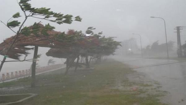 Chiều nay bão tăng cấp, khu vực ven biển Nam Định và các tỉnh có gió xoáy mạnh giật cấp 6 – 7