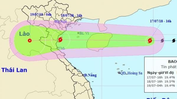 Thông tin mới nhất về bão số 3: Gió tăng lên cấp 11 và mở rộng vùng ảnh hưởng