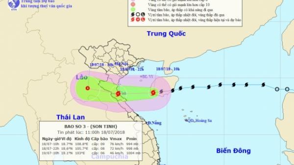 Công điện khẩn của BCĐ PCTT &TkCC tỉnh Thái Bình về ứng phó với cơn bão số 3