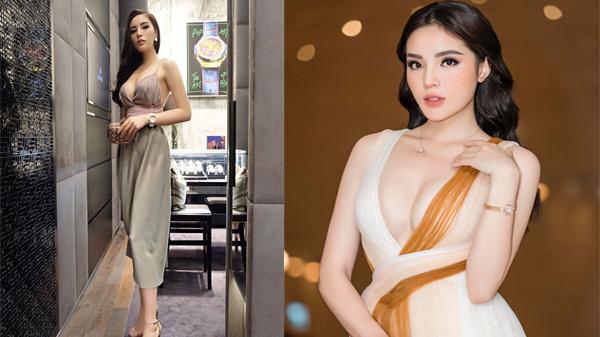 """Bất ngờ với loạt trang phục táo bạo """"mặc như không"""" của người đẹp quê Nam Định Kỳ Duyên"""