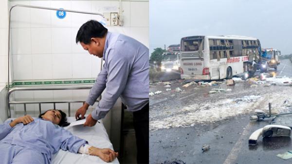 Nhân chứng bàng hoàng kể lại vụ lật xe khách khiến 9 người thương vong