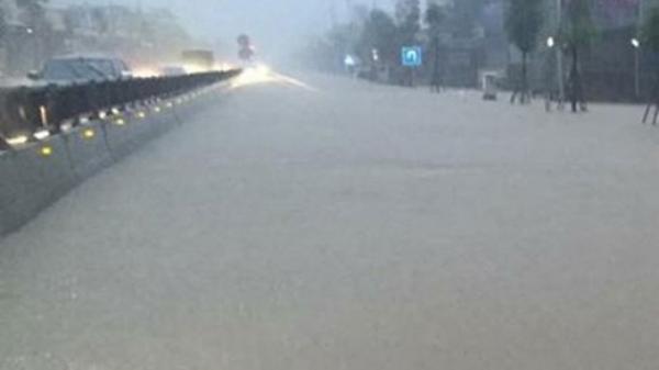 Cảnh báo mưa lớn diện rộng tại Thái Bình