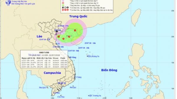 KHẨN: Áp thấp nhiệt đới đổ bộ từ Nam Định đến Thanh Hóa