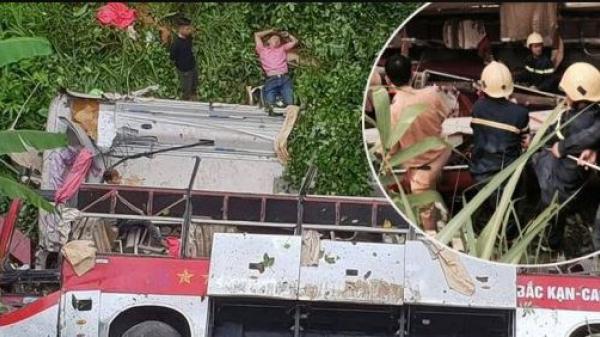 Danh tính 20 nạn nhân thương vong trong vụ tai nạn xe khách BKS Thái Bình lao xuống vực