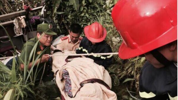 Thông tin mới nhất về sức khoẻ các nạn nhân vụ xe khách BKS Thái Bình lao xuống vực