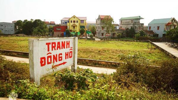 """Bắc Ninh: Khẩn cấp cứu làng tranh Đông Hồ trước khi bị hóa thân thành """"làng vàng mã"""""""