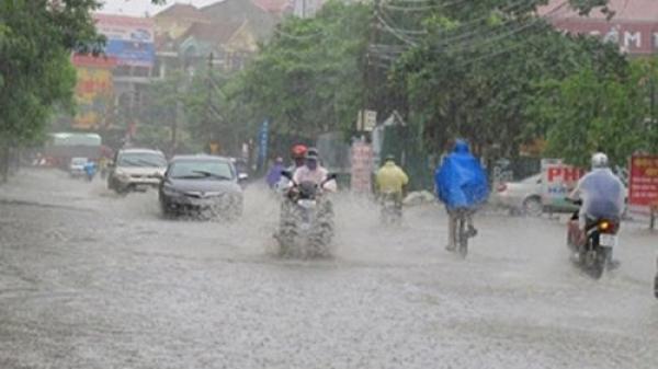 Thời tiết ngày 25/7: Miền Bắc mưa gia tăng về lượng