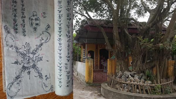Giải mã những bí ẩn kinh khiếp về bùa chú và thuật trấn yểm ở một ngôi làng tại Thái Bình