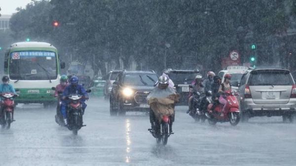 HÔM NAY: Cảnh báo mưa lớn diện rộng tại Thái Bình