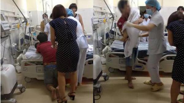 Nam Định: Cháu bé 2 tuổi ngừng tim, tổn thương não sau khi sơ cứu do hóc hạt nhãn