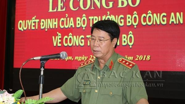 Bắc Kạn: Bổ nhiệm Đại tá Dương Văn Tính giữ chức vụ Giám đốc Công an tỉnh