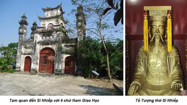 Là người Bắc Ninh, bạn có biết Sĩ Nhiếp là ai và đền Sĩ Nhiếp ở đâu không?