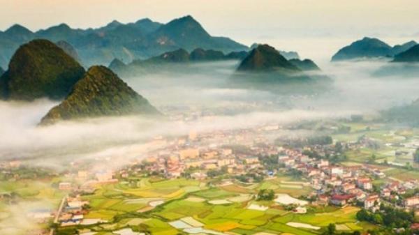 """Không xa Bắc Ninh có """"thung lũng vàng"""" đẹp mơ màng mùa lúa chín, nhất định phải đi ngay kẻo lỡ mất"""