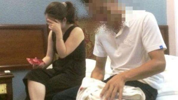 Nóng: Cán bộ CSGT bất ngờ bị bắt quả tang trong nhà nghỉ với cô giáo đã có chồng