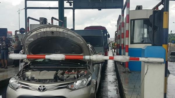 Nam Định: Ùn tắc kéo dài, BOT Mỹ Lộc xả trạm 2 lần trong ngày
