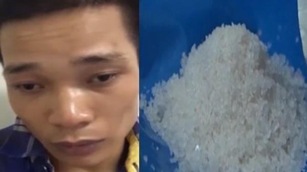 """Nam Định: Chặn chuyến hàng lớn của kẻ nghiện ma túy """"đá"""""""