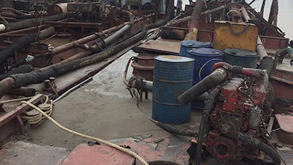 """Hai """"cát tặc"""" cùng tên quê Bắc Ninh bị công an giăng lưới bắt gọn trong đêm"""