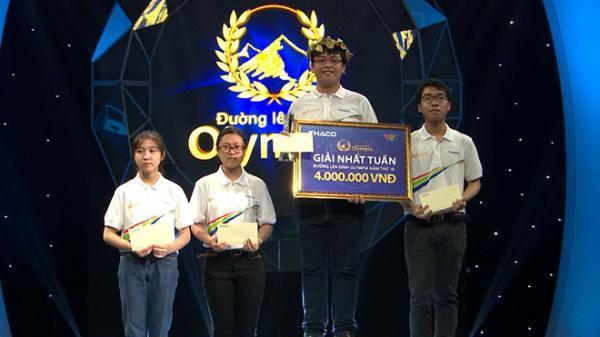 Tự hào đất học Nam Định: Nam sinh 10X đạt điểm số cao nhất Olympia năm thứ 18