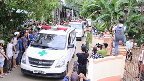 Thảm cảnh: Chờ xe dâu, làng quê lại phải đón 12 xe tang