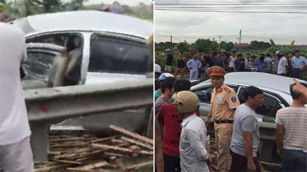 Nam Định: Vụ tai nạn thảm khốc với tàu hỏa khiến 4 người thương vong, 1 cụ bà qua đời trên đường đi cấp cứu