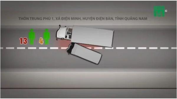 Từ vụ tai nạn thảm khốc làm 13 người thiệt mạng, video mô phỏng cho thấy rằng có thể giảm thương vong khi ô tô gặp nạn