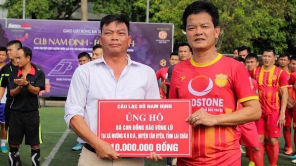 CLB Nam Định và câu chuyện bóng đá kết nối những tấm lòng