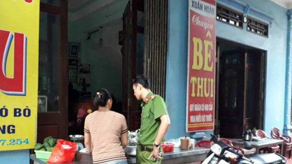 Thái Bình: Hai người đàn ông bị tạt axit bỏng nặng