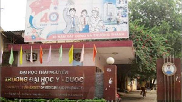 ĐH Y Dược Thái Nguyên công bố điểm chuẩn