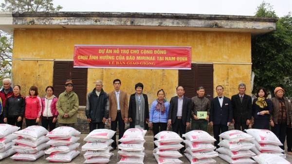 Phục hồi sinh kế cho 2.628 hộ nông dân Nam Định