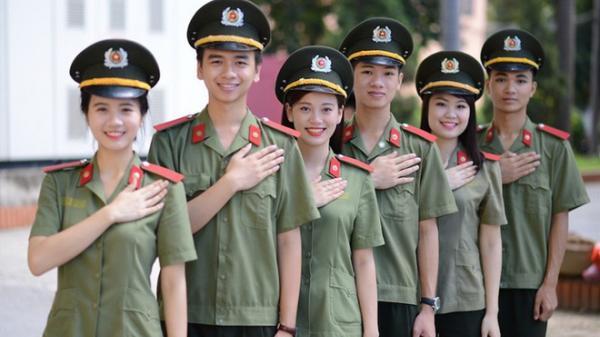 23 thí sinh Lạng Sơn đỗ Học viện An ninh, có bao nhiêu chiến sĩ cảnh sát cơ động?