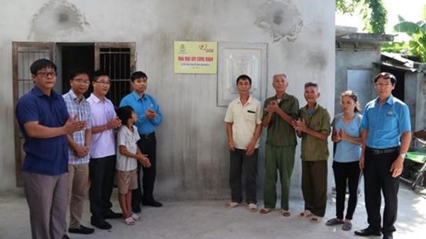 """Nam Định: Bàn giao """"Mái ấm Công đoàn"""" cho gia đình công nhân có hoàn cảnh khó khăn"""