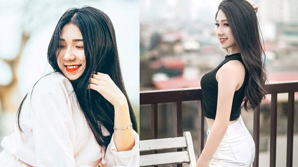 """Ngắm nhìn nhan sắc xinh như nữ thần của nữ sinh quê Thái Nguyên """"gây mê"""" dân mạng"""