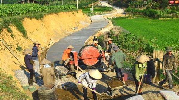 Tập trung giải ngân nguồn vốn chương trình nông thôn mới